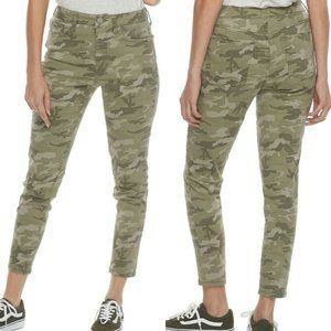 NWT SO® Camo High Rise Ankle Jeggings 7